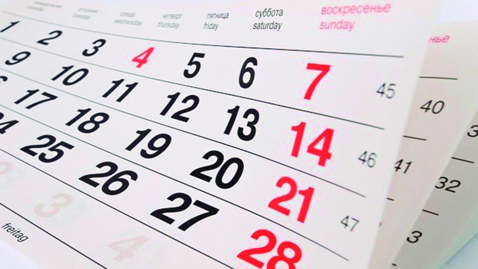4 modelos de calendários 2019 para sua empresa começar o ano com tudo